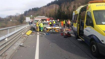 Un total de 44 personas han fallecido en accidentes de tráfico en lo que va de año en Euskadi