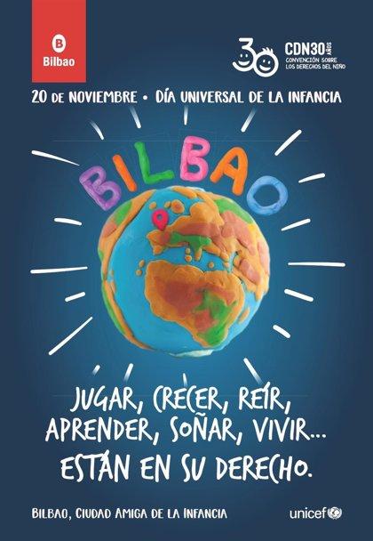 Ayuntamiento de Bilbao edita un InfoBilbao para sensibilizar a la ciudadanía sobre los derechos de la infancia