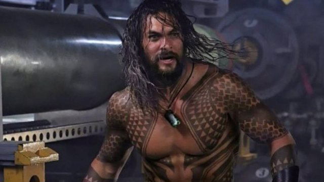 Aquaman, interpretado por Jason Momoa