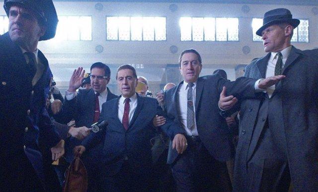 Imagen de la película El irlandés
