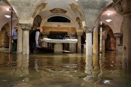 """Venecia, """"daños enormes"""" pero en la Basílica de San Marcos """"no son irreparables"""""""