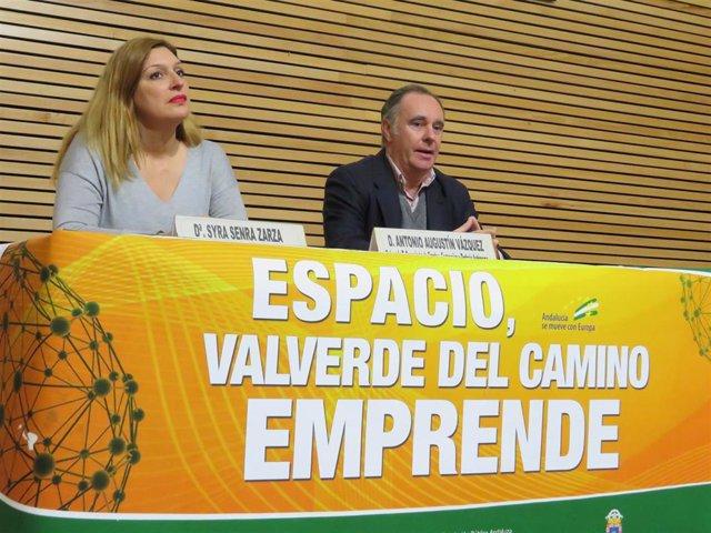 El delegado de Empleo, Formación, Trabajo Autónomo, Economía, Conocimiento, Empresas y Universidad, Antonio Augustín.