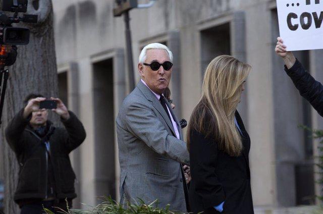 EEUU.- Un jurado declara a Roger Stone, estrecho aliado de Trump, culpable de ob