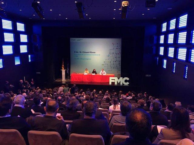 La consellera de Presidencia, M.Budó, en la 30 Asamblea General de la FMC