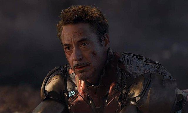 Robert Downey Jr en uno de los momentos decisivos para Iron Man