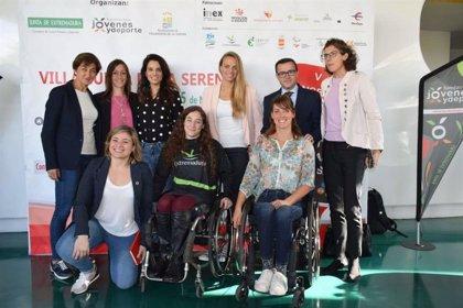 La colegiada Guadalupe Porras y la palista Ana Belén Rey reciben los V Premios 'Deporte, Igualdad y Empresa'