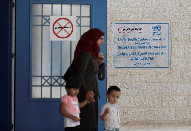 Escuela de la UNRWA