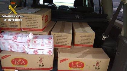 Denunciado por intentar introducir 380 kilos de alimentos prohibidos en Gran Canaria