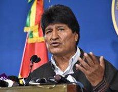 """Evo Morales: """"He complert amb la meva gestió, he complert amb la meva tasca, però la lluita continua"""" (ABI)"""