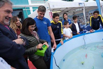 Unos 5.000 estudiantes y más de 400 profesores visitan la Miniferia de Gran Canaria