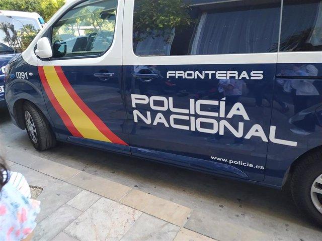 Recurso furgoneta Policía Nacional