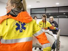 Mor un motorista a l'AP-7 a Santa Perpètua de Mogoda (Barcelona) (BANC D'IMATGES INFERMERES / ARIADNA CREUS I ÀNGEL)