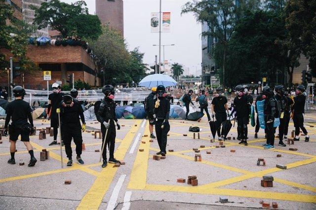 Protestes a Hong Kong.