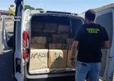 La Guàrdia Civil desarticula una organització dedicada al tràfic d'haixix entre Espanya i França (MINISTERIO DEL INTERIOR)