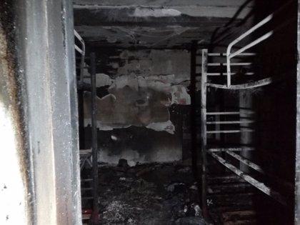 Un incendio causa daños en el centro de protección de menores Arguiñáriz, en Guirgillano, sin provocar heridos