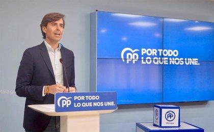 """Montesinos asegura que el PP será un """"dique de contención ante los desmanes de Sánchez y sus socios"""""""