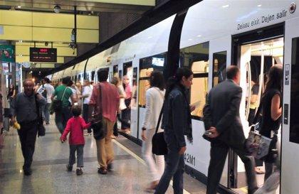 Metrovalencia desplazó en octubre a más de 6,6 millones de personas y el TRAM d'Alacant, a más de un millón