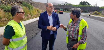 Las obras de asfaltado de la carretera de El Time comenzarán este miércoles
