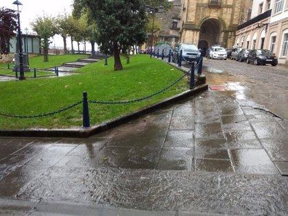 La lluvia y las temperaturas frías se mantendrán este domingo en Euskadi