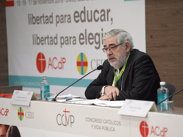 El secretario general de la Universidad CEU Cardenal Herrera, José Manuel Amiguet.