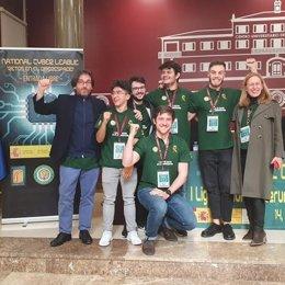El equipo HACKIT de la Universidad de Granada.