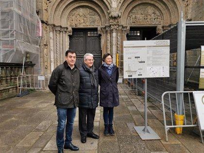 La Xunta licitará este martes la rehabilitación de la fachada de la Catedral de Santiago en Praza da Quintana