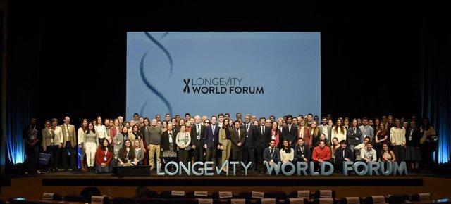 Foto de familia del Longevity World Forum
