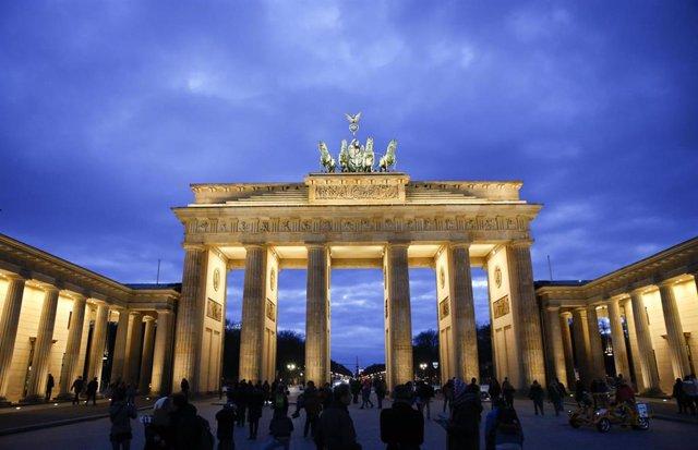 La Puerta de Brandemburgo, en Berlín