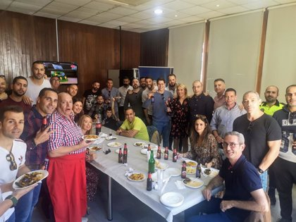 La Policía Portuaria de Almería celebra su tradicional paella de despedida del año