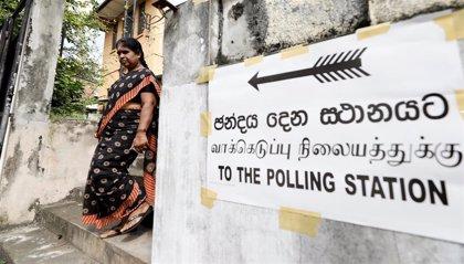 Cierran las urnas en Sri Lanka tras una jornada marcada por la violencia