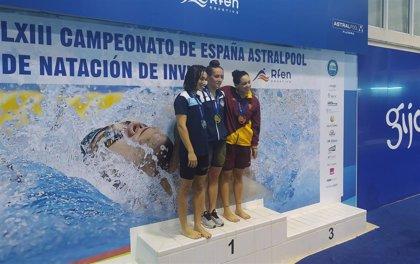 Ainhoa Campabadal arrebata protagonismo a Lidón Muñoz en el Campeonato de España de natación de invierno