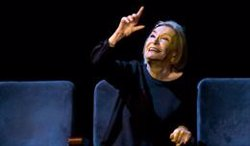 El món gitano de García Lorca ressona al Teatre Municipal de Girona amb la interpretació de Núria Espert (ACN)