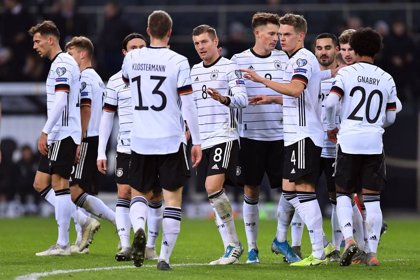 Alemania y Países Bajos logran el billete a la Euro 2020