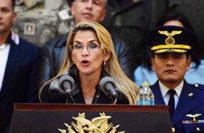 Áñez recibe al enviado de Naciones Unidas para mediar en el conflicto de Bolivia