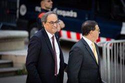 El TSJC jutja Torra per presumpta desobediència en mantenir el llaç a la Generalitat (David Zorrakino/Europa Press - Archivo)