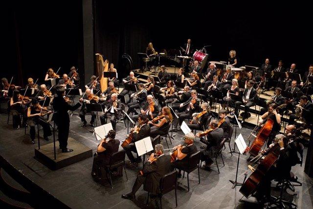 La Orquesta de Córdoba durante uno de sus conciertos en una imagen de archivo.