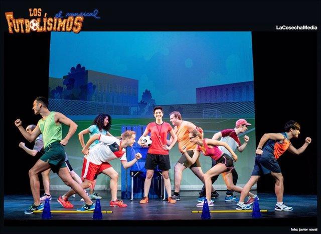 El musical 'Los futbolísimos'