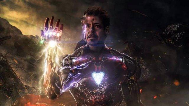 Robert Downey Jr (Iron Man) en Vengadores: Endgame
