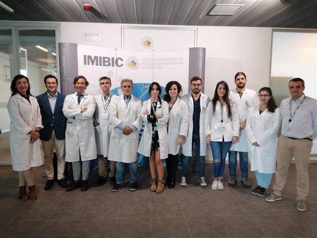 Profesionales del Imibic que participan en el proyecto 3TR