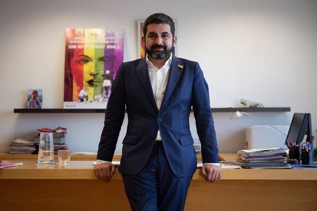 El conseller de Treball, Assumptes Socials i Famílies de la Generalitat, Chakir El Homrani