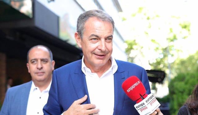 L'expresident del Govern, José Luis Rodríguez Zapatero