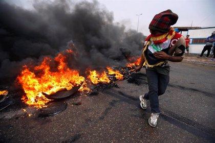 Huelga general en Irak durante una nueva jornada de protestas sociales