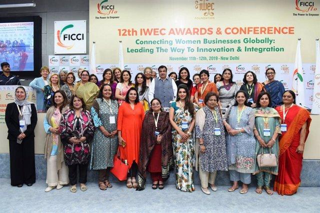 Les guardonades amb els premis IWEC