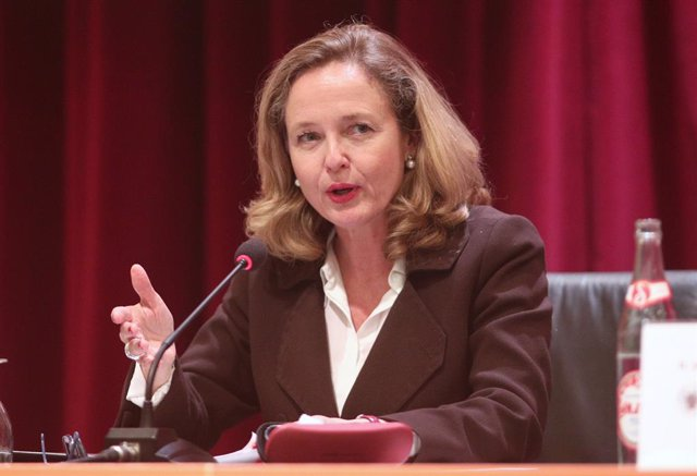 La ministra d'Economia i Empresa, Nadia Calviño.
