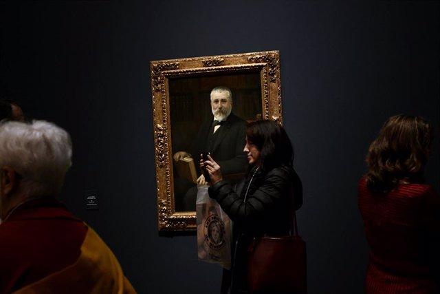 Un retrat de Benito Pérez Galdós a l'exposició 'Benito Pérez Galdós.