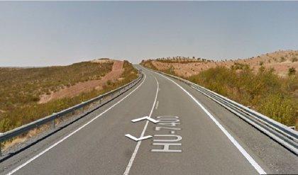 Dos muertos y un herido grave en un accidente en la HU-74000 en Paymogo (Huelva)
