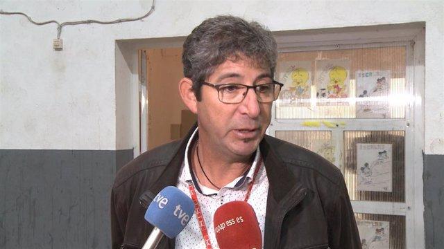 Ángel Serván, candidato del PSOE en Cordobilla de Lácara.