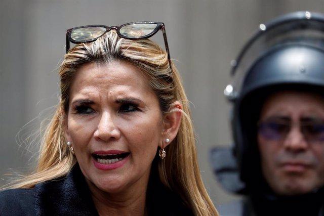 Jeanine Añez, presidenta interina de Bolivia