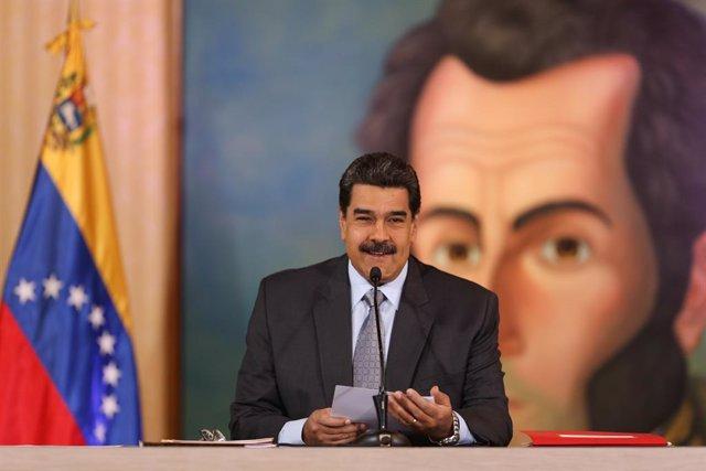 Venezuela.- Maduro subraya que la dolarización de Venezuela podría beneficiar a