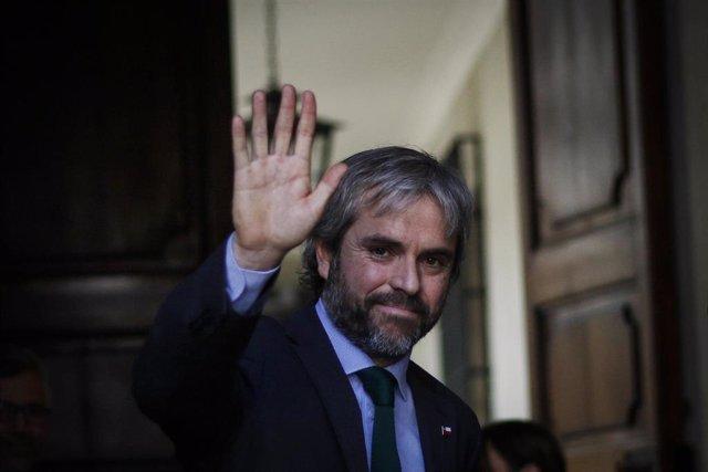 El ministro del Interior chileno, Gonzalo Blumel.